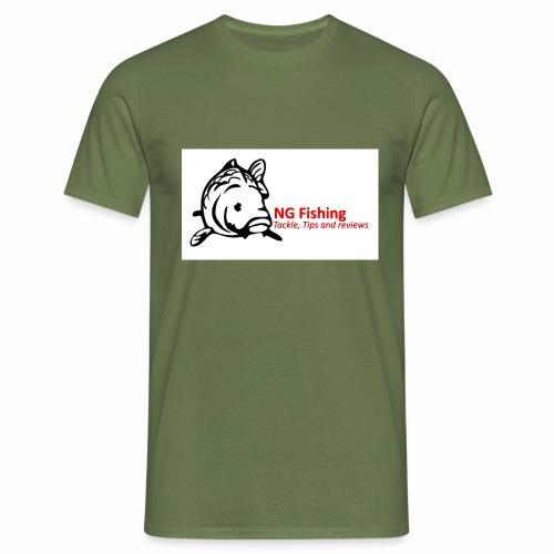ng fishing logo new - Men's T-Shirt