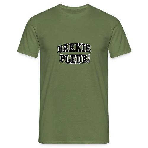 Bakkie Pleur (zwart) - Mannen T-shirt