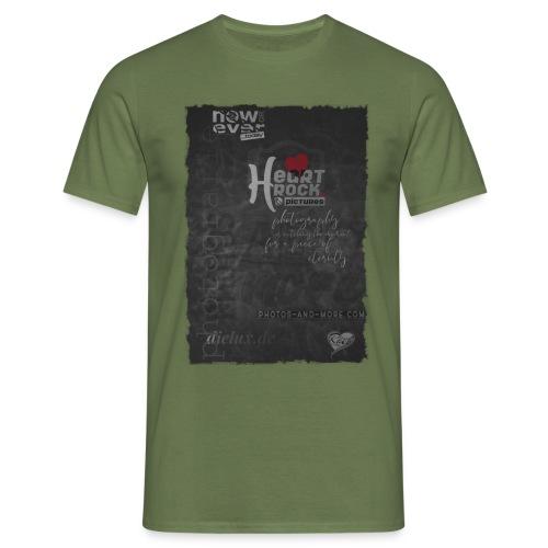 Tshirt black matte - Männer T-Shirt