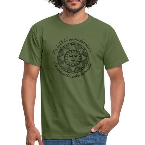 En tykkää aamuihmisistä en aamuista enkä ihmisistä - Miesten t-paita