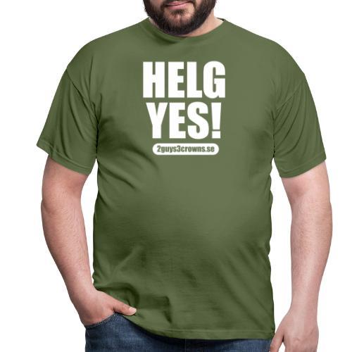 ORIGINAL HELG YES Design - Men's T-Shirt