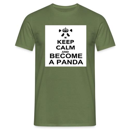 Vær En Panda - Herre-T-shirt