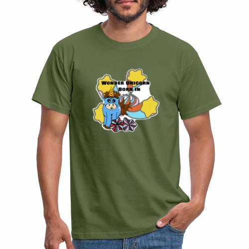 Une merveilleuse licorne est née (pour garcon) - T-shirt Homme