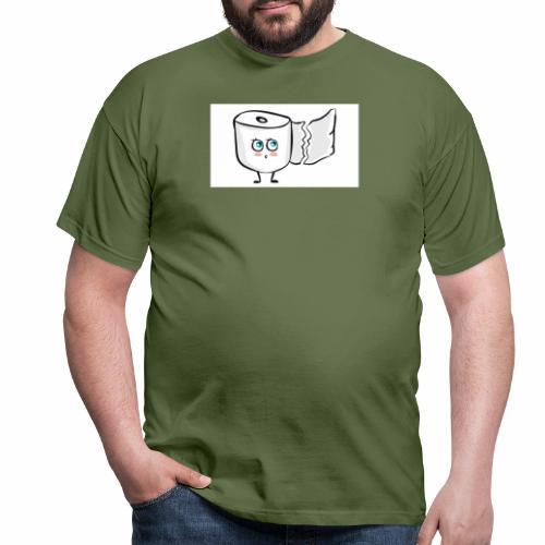 Toilettenpapier - Männer T-Shirt