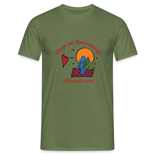 Ullihunde - Wege zur Freundschaft - Männer T-Shirt