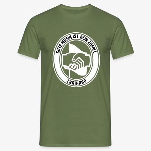 Logo Troihand invertiert - Männer T-Shirt