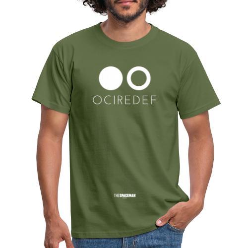 OCIREDEF Official White - Maglietta da uomo