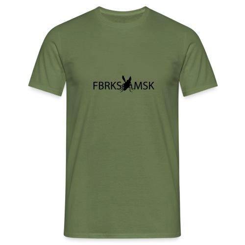 FABRIKSMUSIK LOGO - T-shirt herr