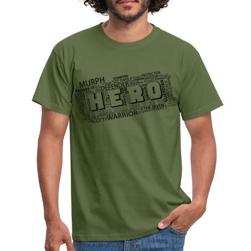 Hero - Männer T-Shirt