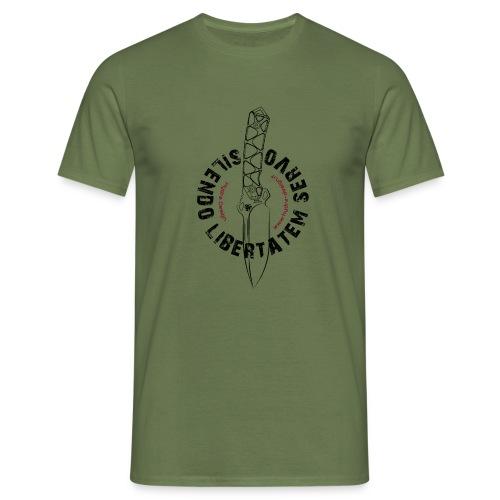 Hydra Design Honos knife - blk - Men's T-Shirt