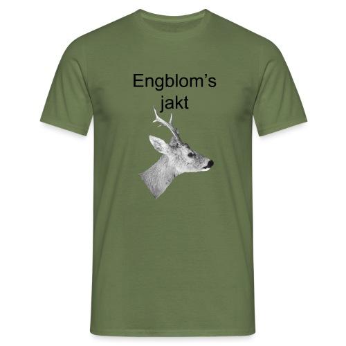 Officiell logo by Engbloms jakt - T-shirt herr