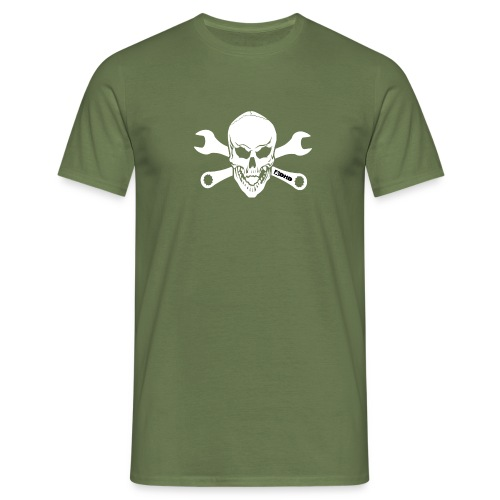 adhd skull - T-shirt herr