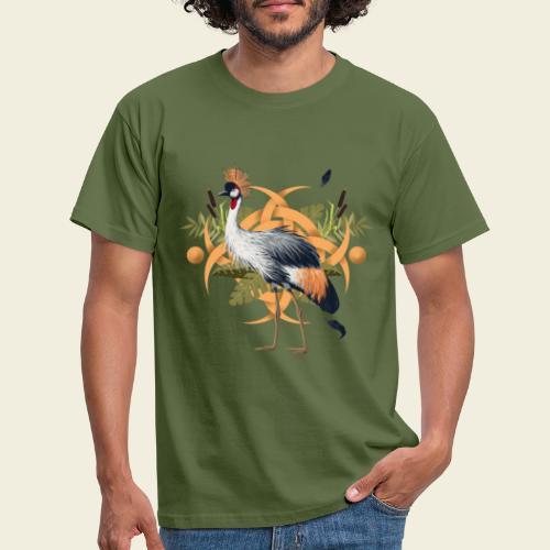 Kronenkranich - Männer T-Shirt