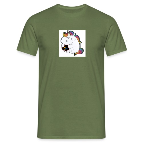 MIK Einhorn - Männer T-Shirt