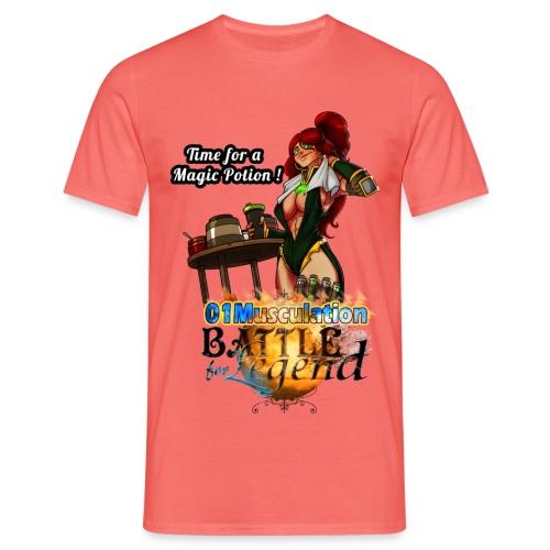 Mythrilisatrice- Battle for Legend X 01Musculation - T-shirt Homme