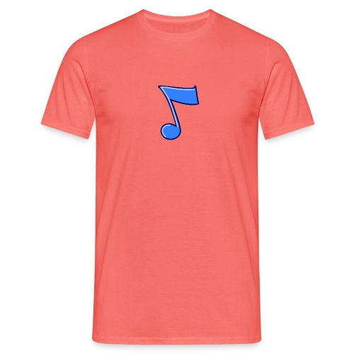 mbtwms_Musical_note - Mannen T-shirt