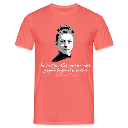 Sainte Therese patronne des missions - T-shirt Homme