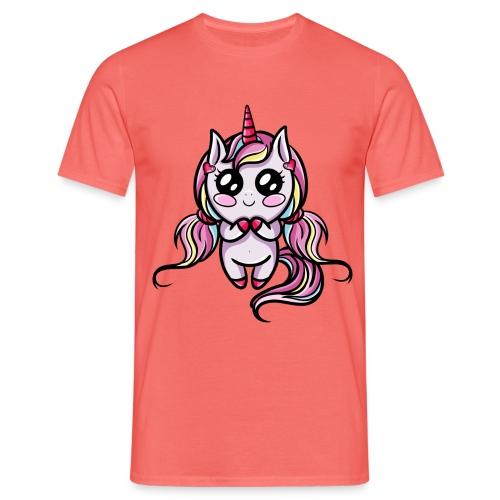 Licorne Kawaii - T-shirt Homme