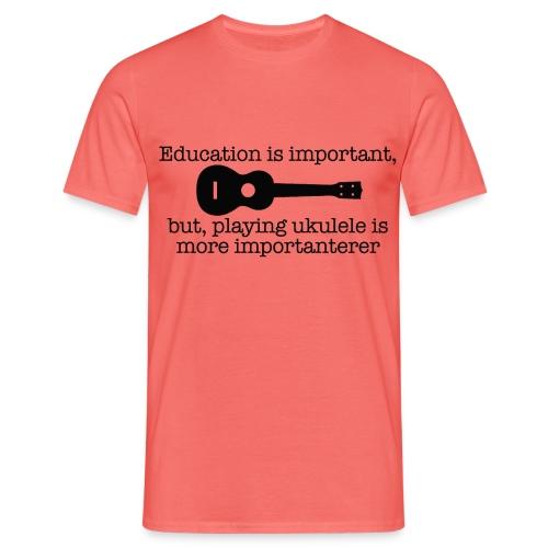 Important Ukulele - Men's T-Shirt