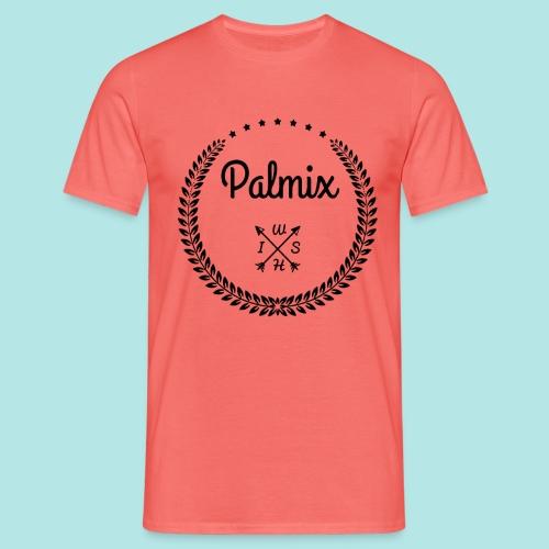 Palmix_wish V-neck - Men's T-Shirt