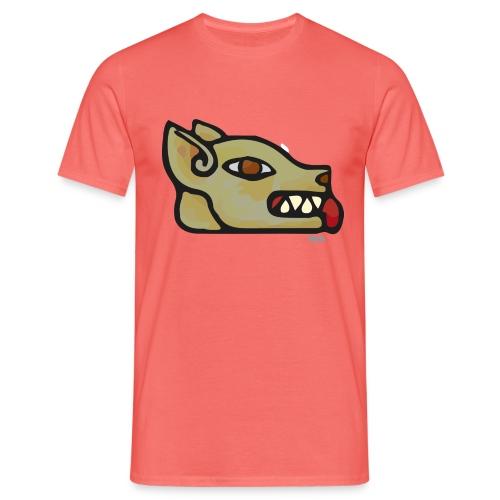 Aztec Icon Dog - Men's T-Shirt