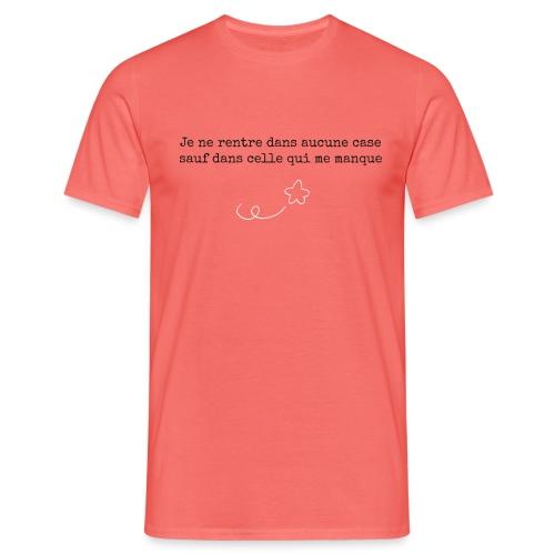2021 02 Case qui manque - T-shirt Homme