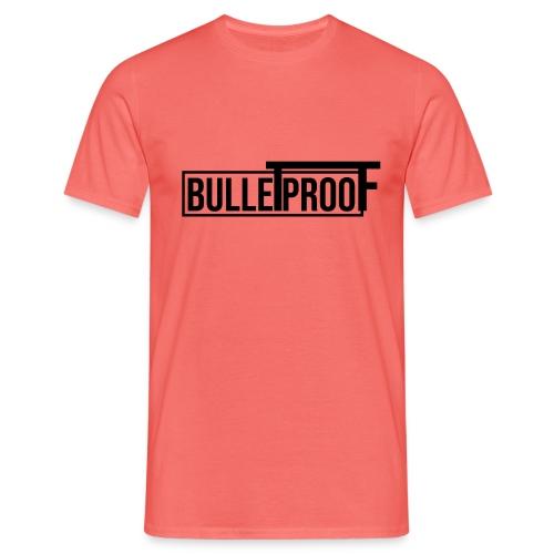 Bulletproof Black - Mannen T-shirt