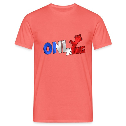 Logo ONLY KING edition francaise - T-shirt Homme