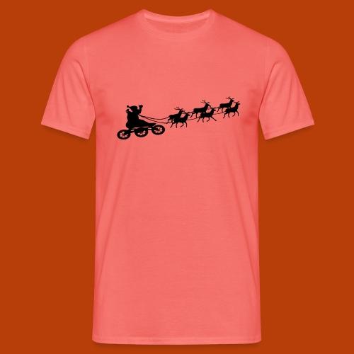 Ho Hoo Weihnachts Rentier Skate - Männer T-Shirt