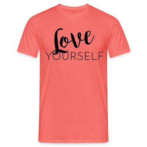 Love Yourself -Schriftzug Pascal Voggenhuber - Männer T-Shirt