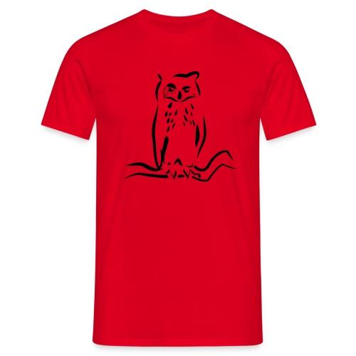 Gufo - Maglietta da uomo