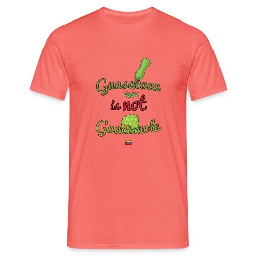 Guasacaca is not Guacamole (with flag) - Camiseta hombre