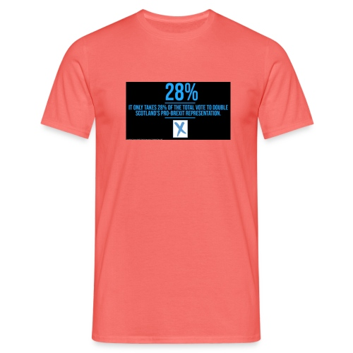 28% - Men's T-Shirt