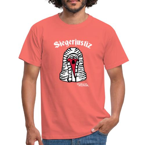 Storch Heinar Siegerjustiz - Männer T-Shirt