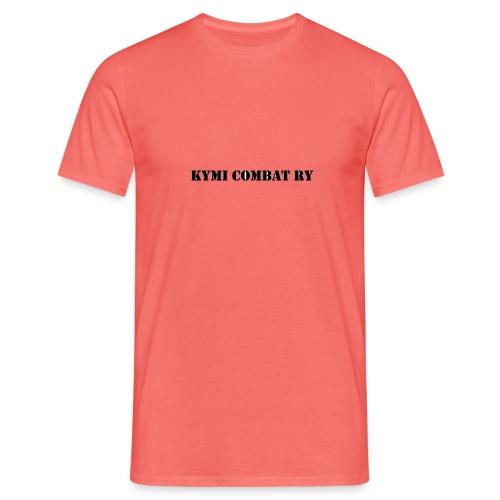 kc musta teksti transparent png - Miesten t-paita