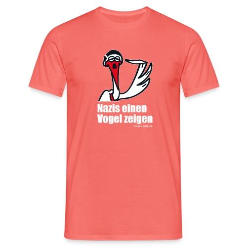 vogelzeigenstorchheinar - Männer T-Shirt