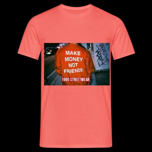 MAKE MONEY NOT FRIENDS - Maglietta da uomo