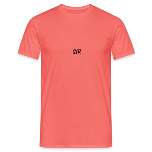 Sur noir - T-shirt Homme