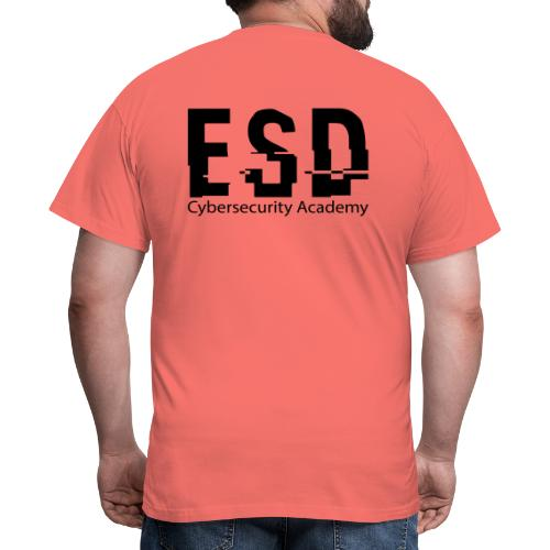 Design ESD Cybersecurity Academy - T-shirt Homme