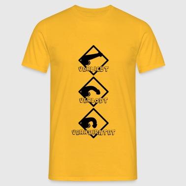 Junggeselle Axel - Männer T-Shirt