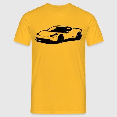 Sportwagen - Männer T-Shirt