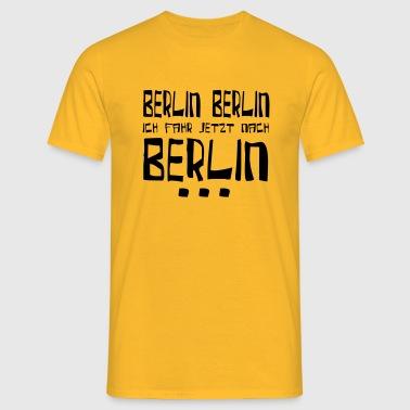 berlin berlin - Männer T-Shirt