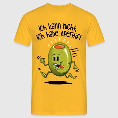 ick kann nicht - Männer T-Shirt