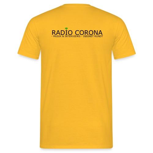Radio Corona - Herre-T-shirt