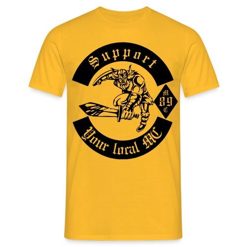 support warrior - Männer T-Shirt