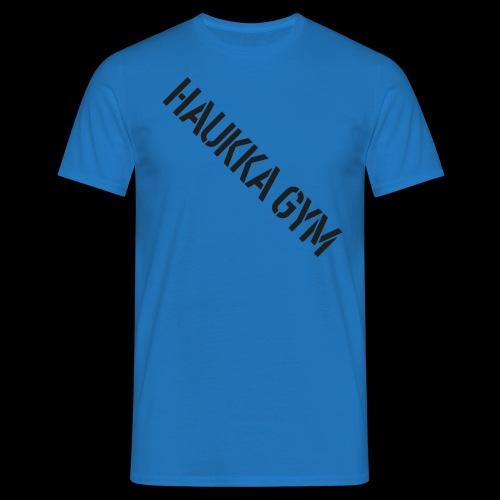 HAUKKA GYM text - Miesten t-paita