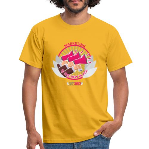 Marketing is the New Black - Camiseta hombre