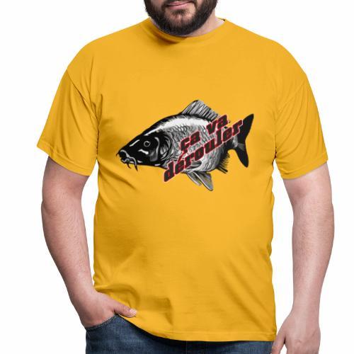 Ca va derouler, je pêche la carpe - T-shirt Homme
