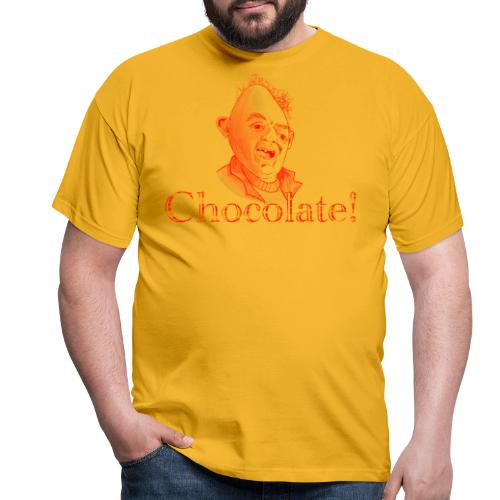 Sloth loves Chocolate - Sloth liebt Schokolade - Männer T-Shirt