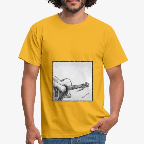 Guitarplayer - Männer T-Shirt